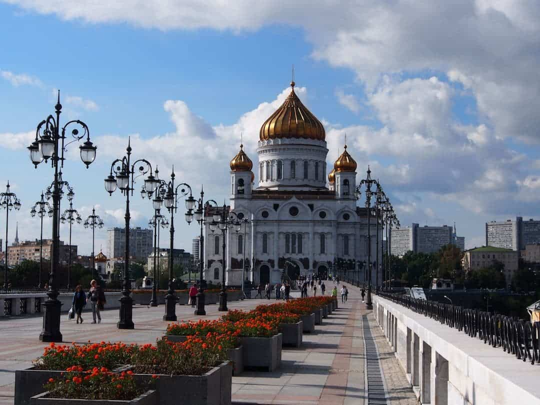 Cathedral Of Christ The Saviour -Moscow