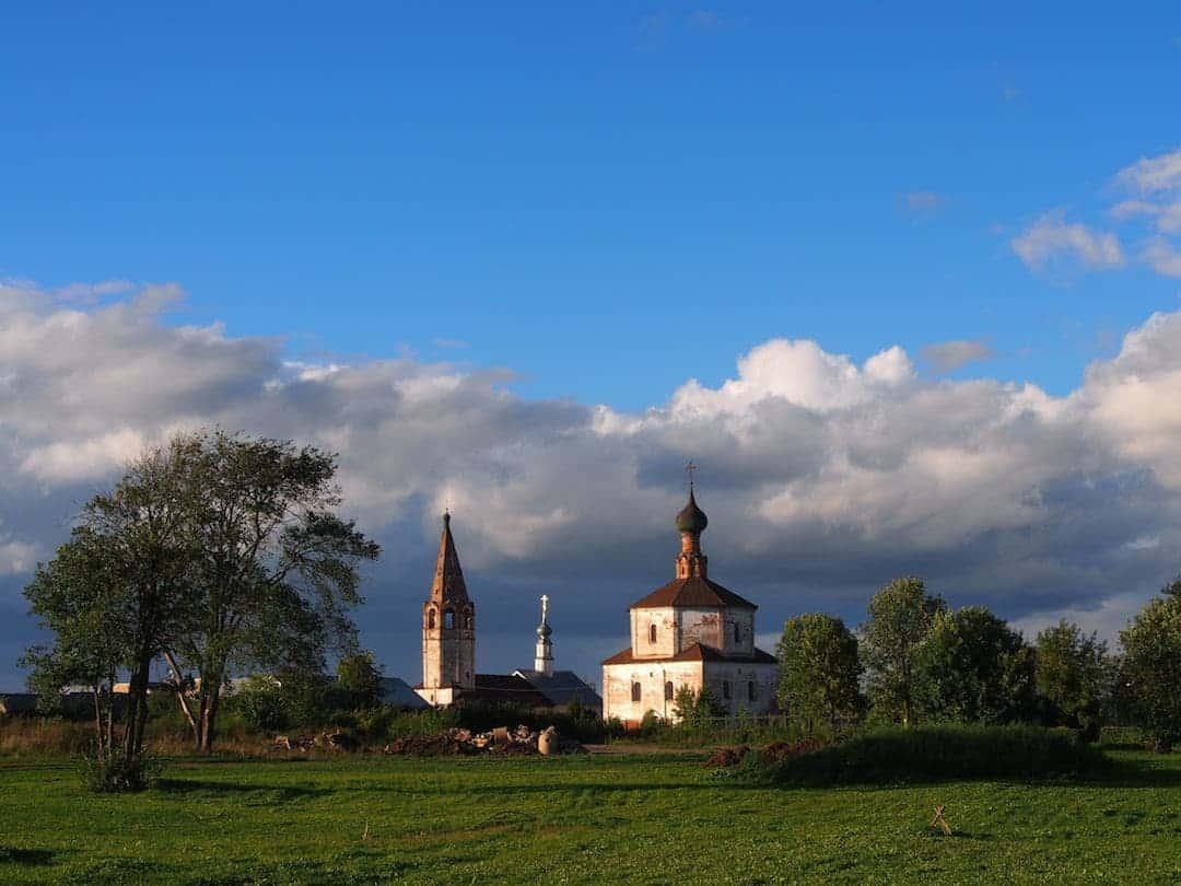 Churches in Suzdal, Russia