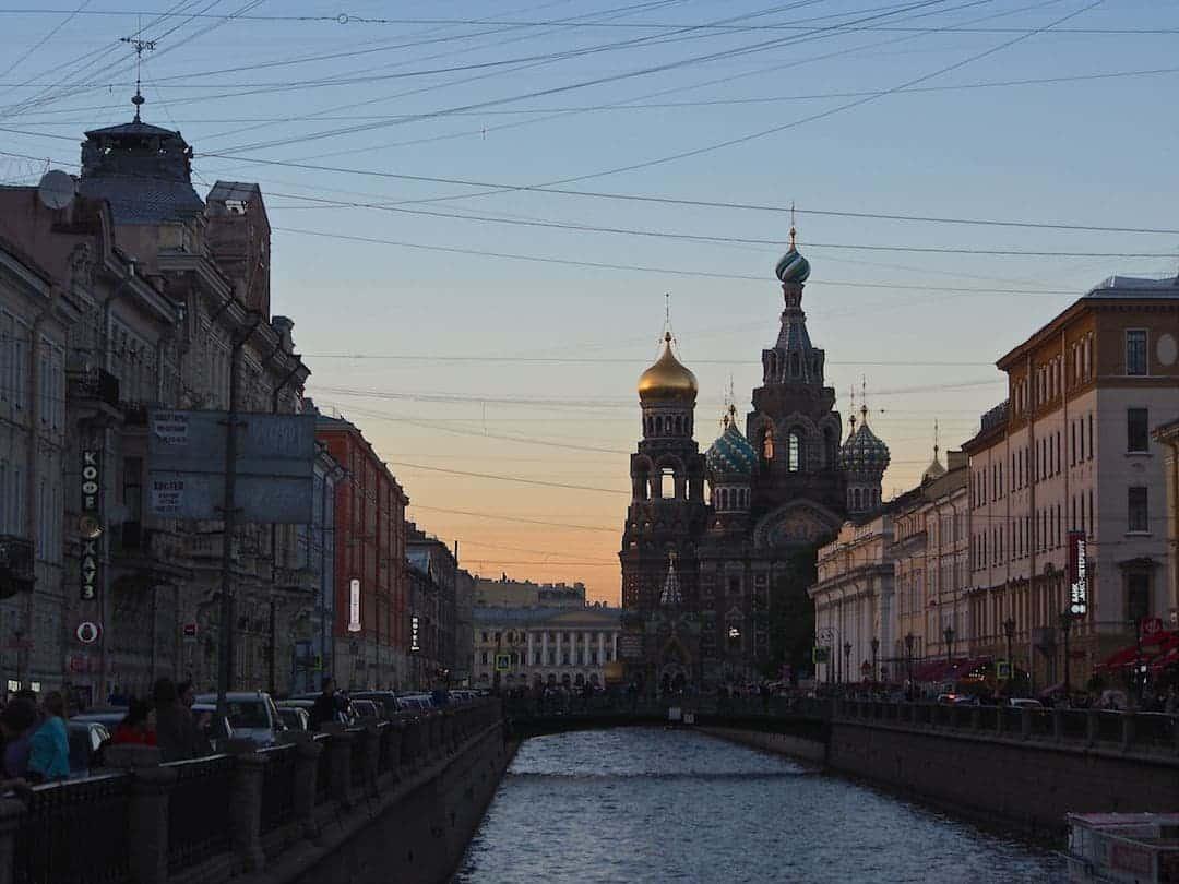 Extraordinary architecture in Russia