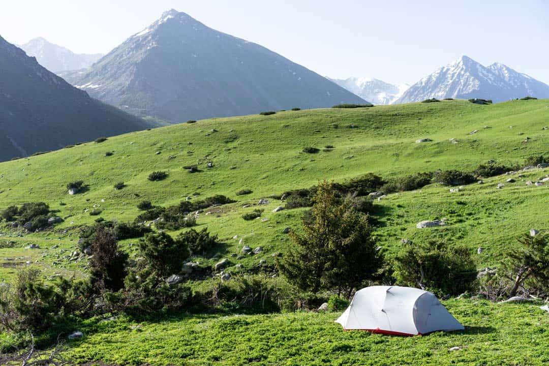Camping Keskenkija Loop Jyrgalan Trek