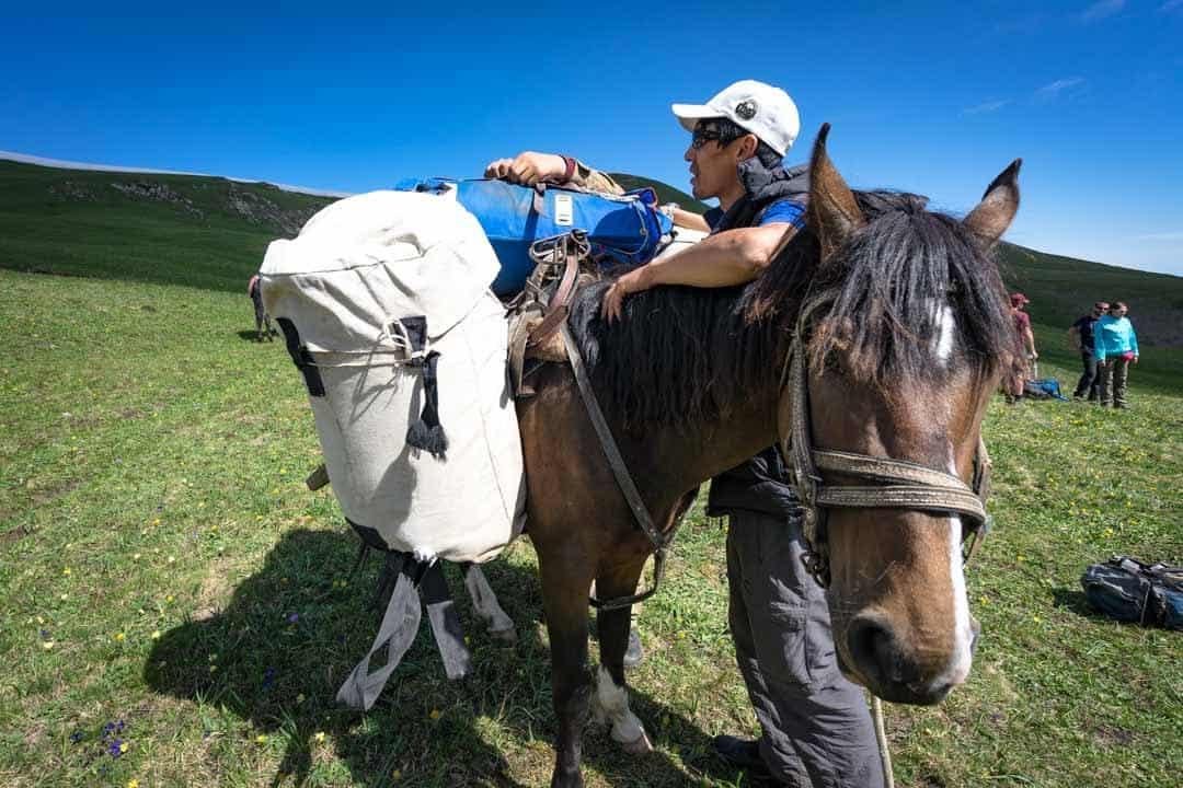 Pack Horse Keskenkija Loop Jyrgalan Trek