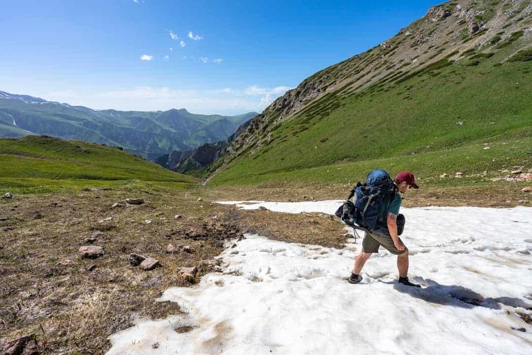 Snow Keskenkija Loop Jyrgalan Trek