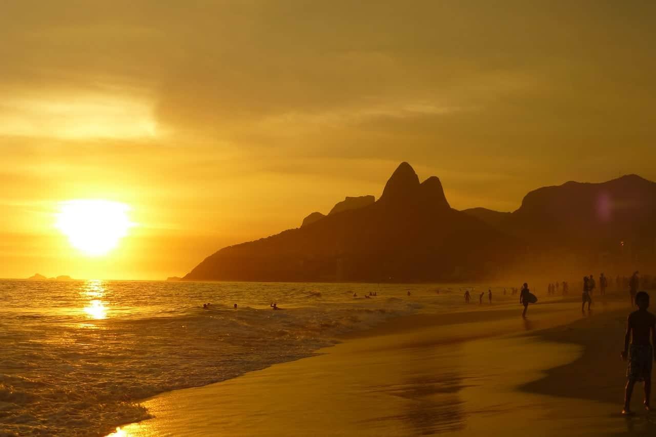 Ipanema Beach Brazil Visa In Buenos Aires