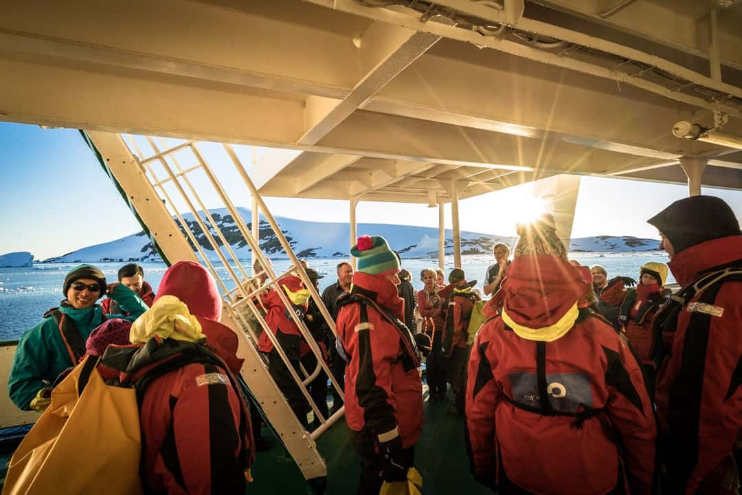 Safety Briefing Camping In Antarctica