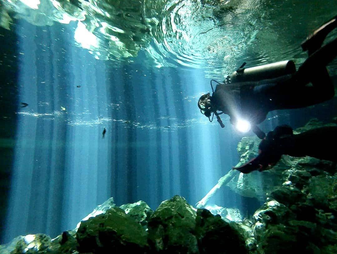 Spotlight Diver - Cenote Diving In Mexico