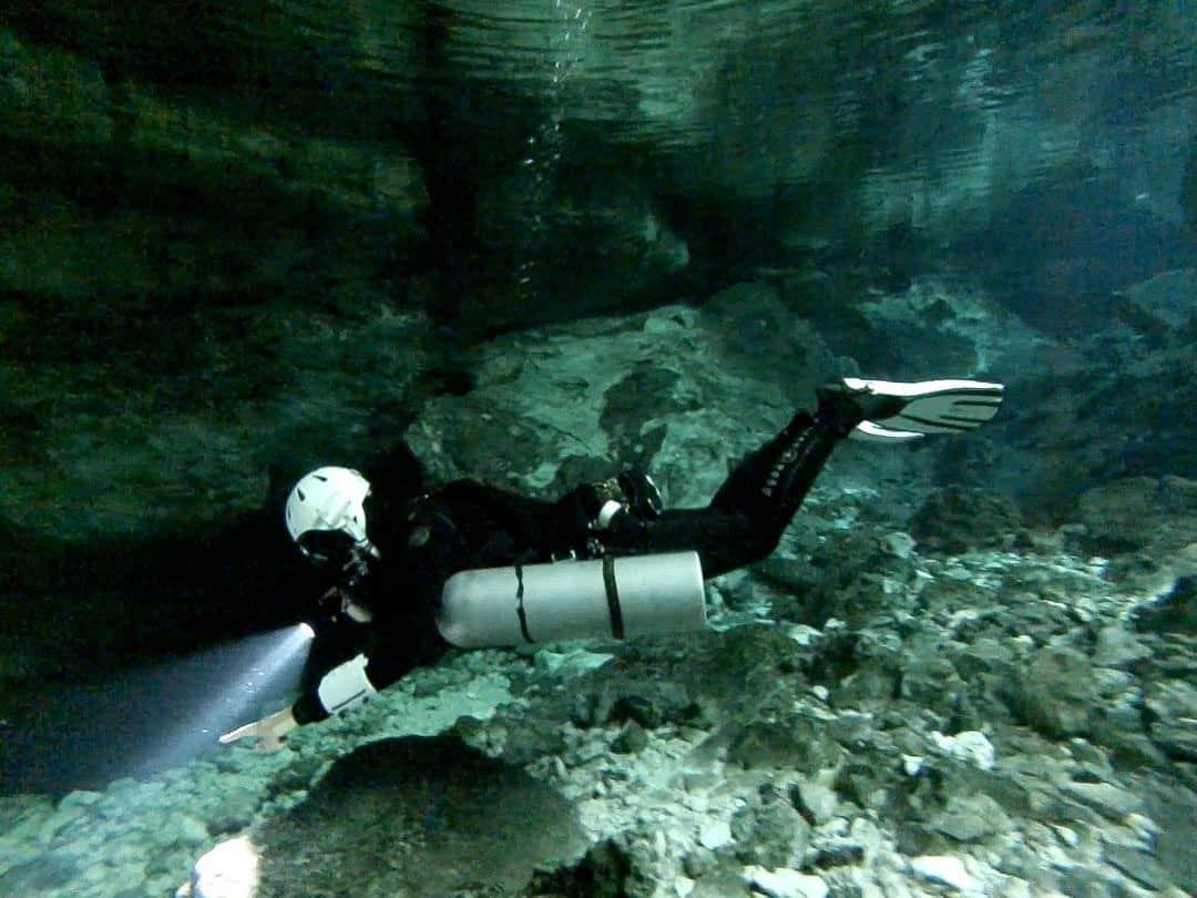 Inside Tajmaha - Cenote Diving In Mexico