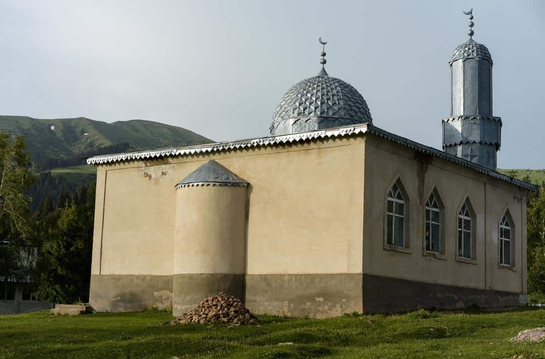 Mosque Jyrgalan Village Kyrgyzstan