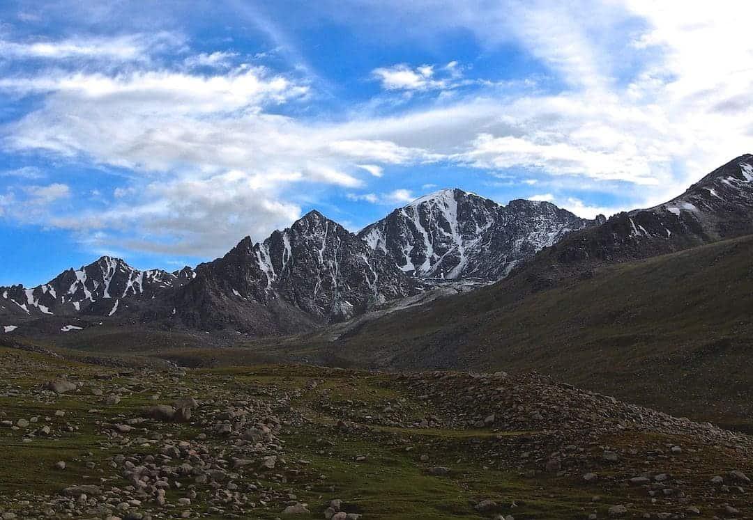 Otmok Pass In Kyrgyzstan