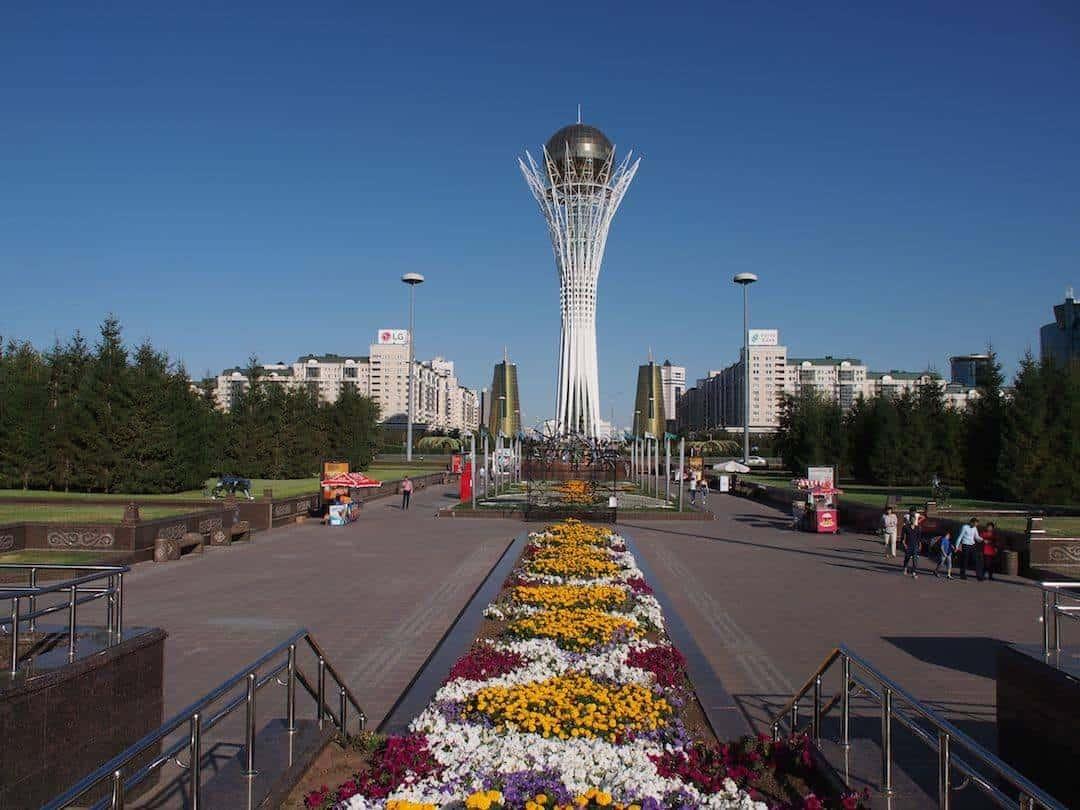 The big egg Astana, Kazakhstan