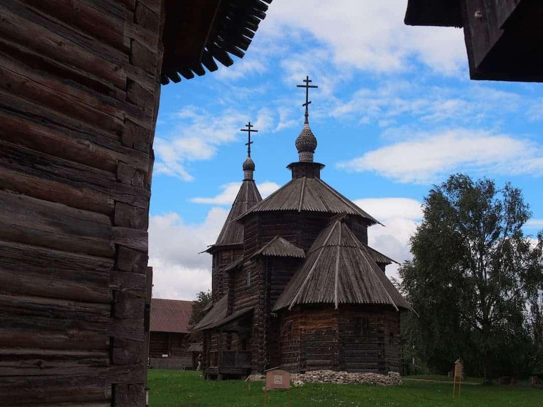 Tradiional church in Suzdal, Russia