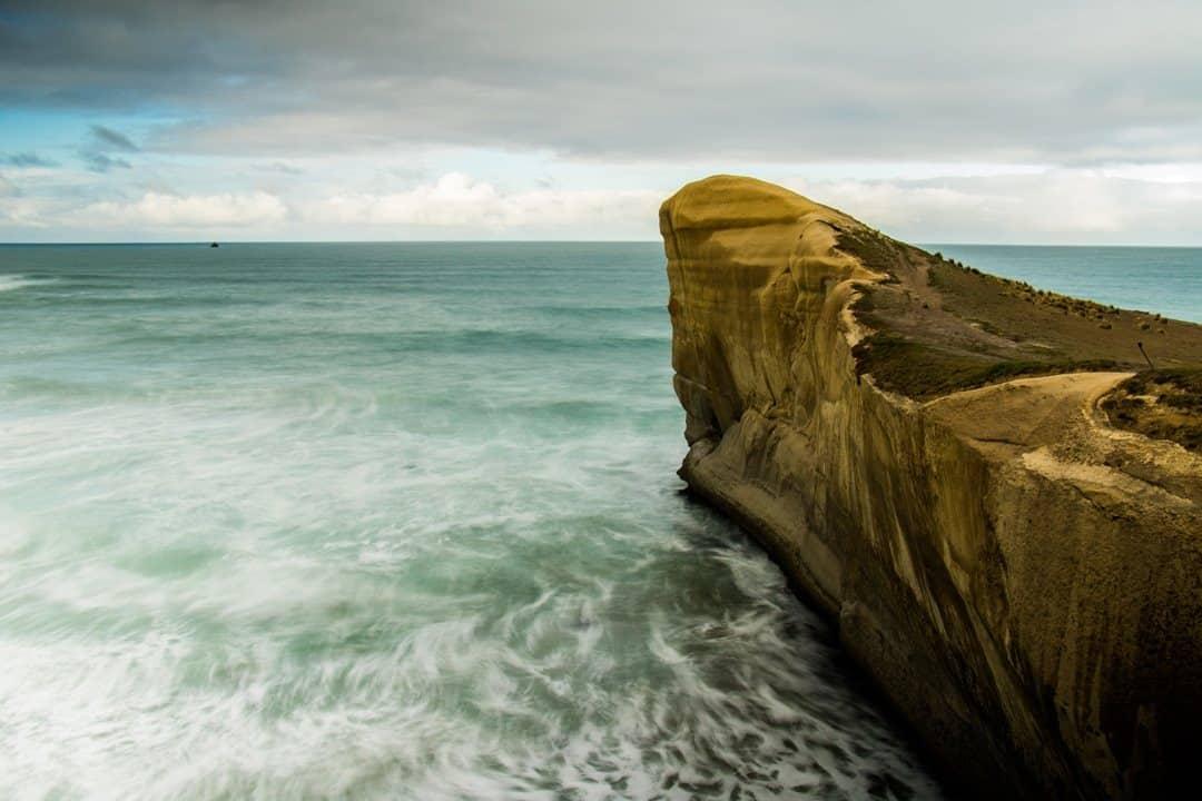 Tunnel Beach Adventures Hiking In Otago New Zealand