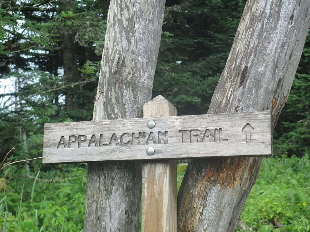 Appalachian Trail - sign board