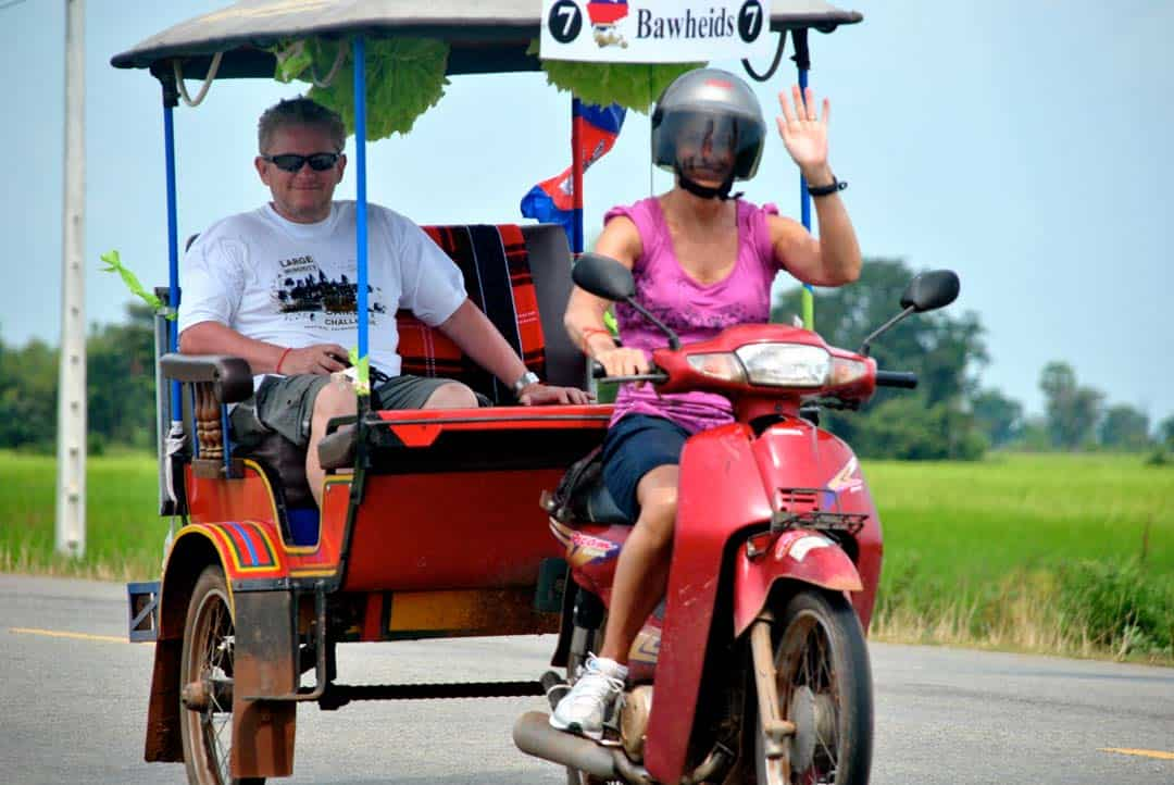 Tuk Tuk Large Minority Adventure Challenges