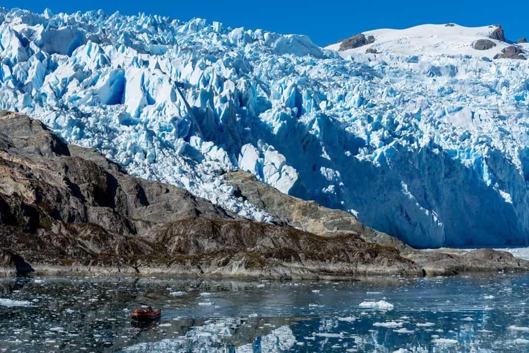 El Brujo Glacier Photos Of Chile