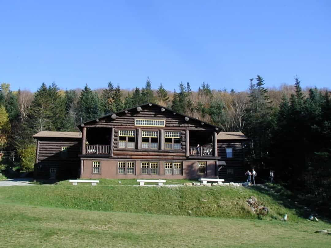 Moosilauke Ravine Lodge in the fall