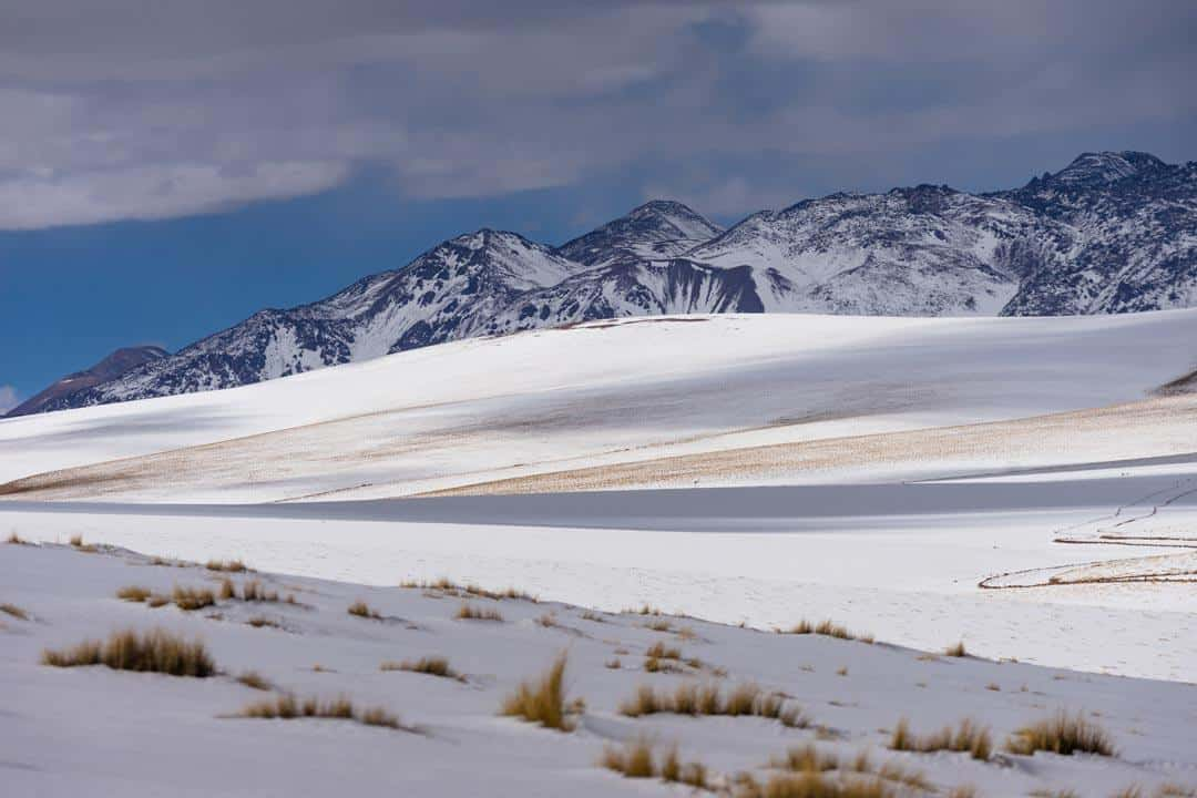 Atacama Desert Snow Photos Of Chile