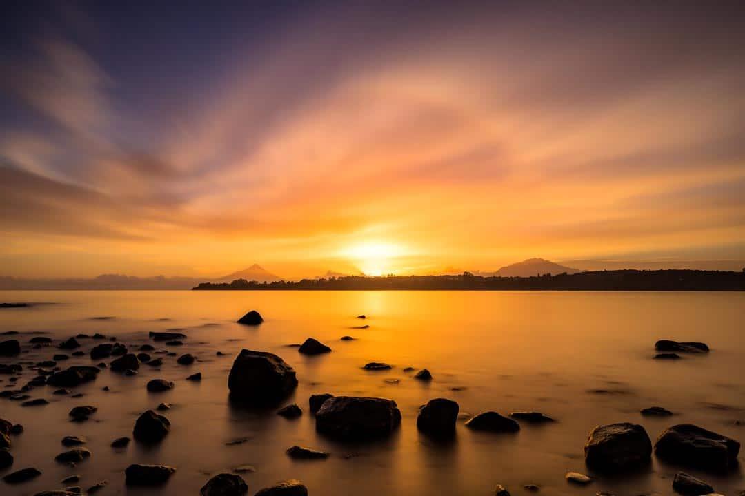 Puerto Varas Sunrise Photos Of Chile