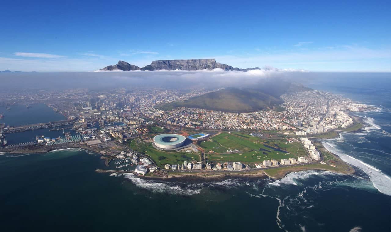 Aerial View Of South Africa - Adventure Activities In South Africa