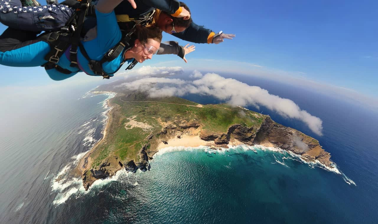 Skydiving - Adventure Activities In South Africa