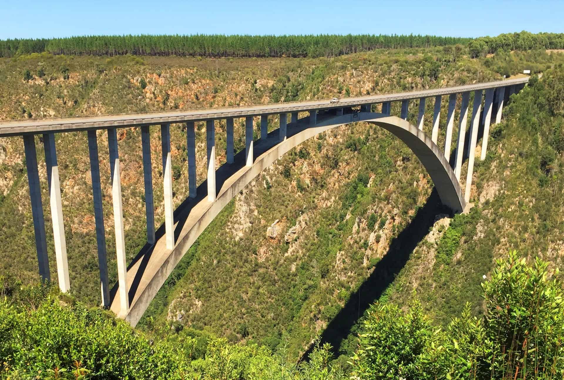 Bungee Jump From Bloukrans Bridge - Adventure Activities In South Africa