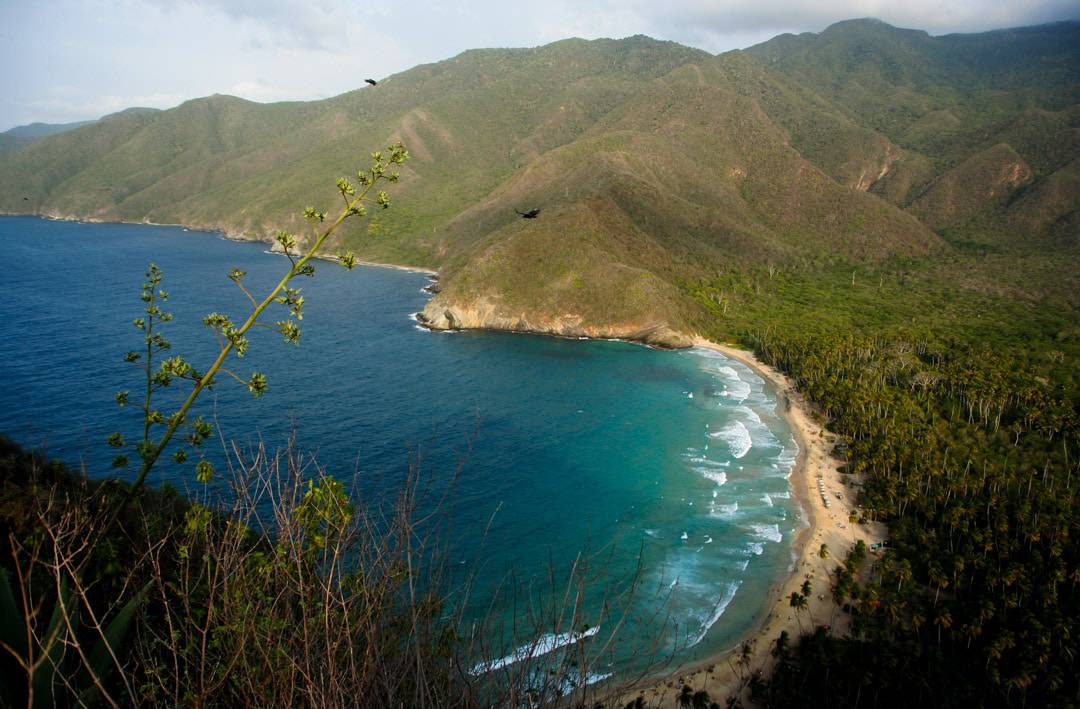 Puerto Colombia On The Coast Of The Henri Pittier National Park, Venezuela