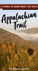 Appalachian Trail USA Pinterest Image