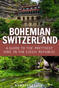 Bohemian Switzerland Pinterest Image