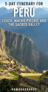 Machu Picchu Pinterest Image