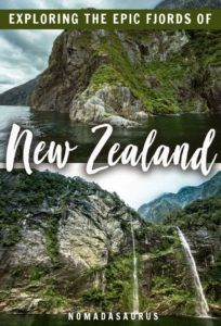 A New Zealand Fjords S Pin