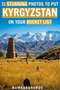 Kyrgyzstan Pinterest Image