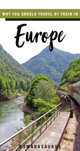 Train Travel Europe Pinterest Image