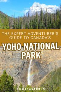 Yoho National Park Pinterest Images