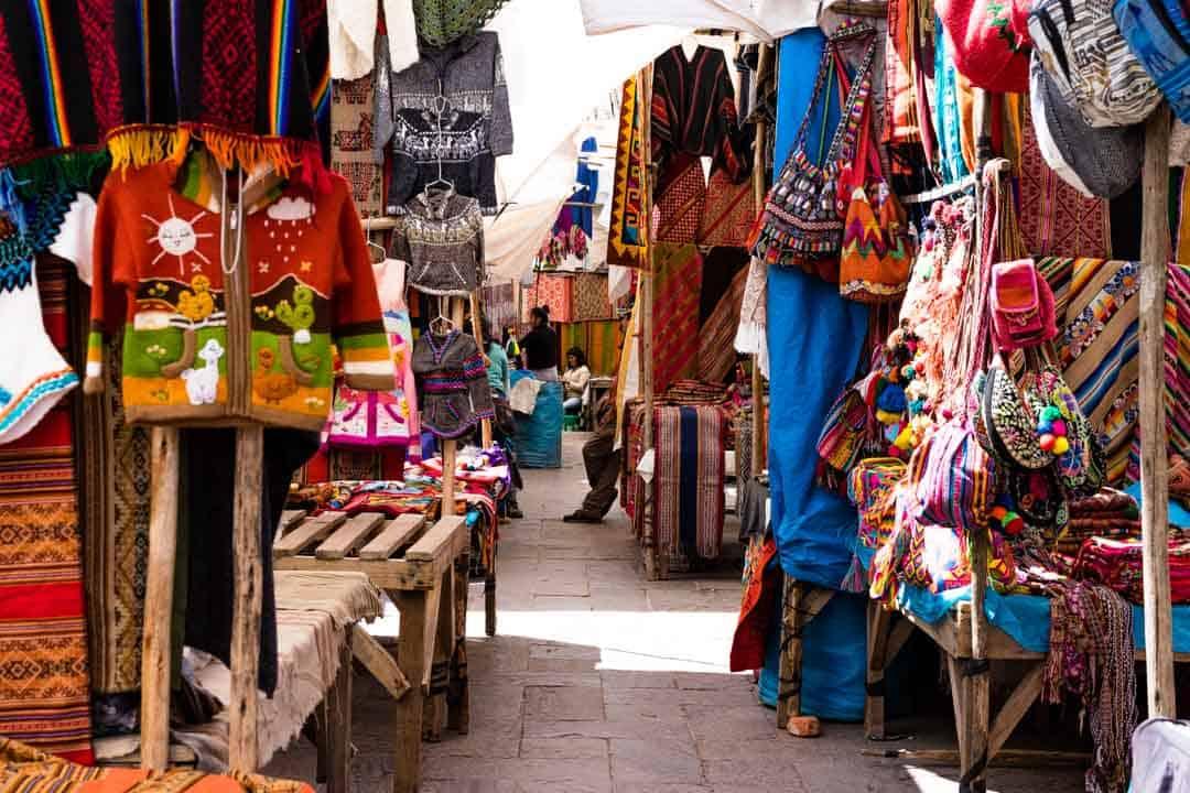 Pisac Market Sacred Valley