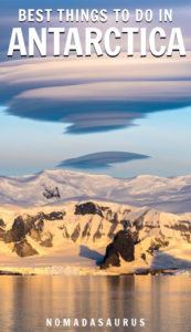 Things in Antarctica Pinterest Image