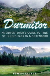 Durmitor National Park 2 Pinterest Image