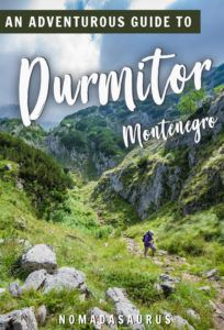 Durmitor National Park Pinterest Image