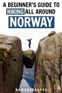 Norway Hiking Pinterest Image