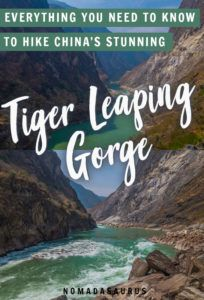 Tiger Leaping Gorge Pinterest Image