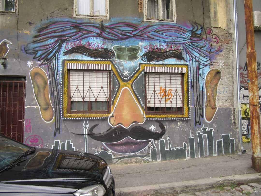Street Art Things To Do In Belgrade