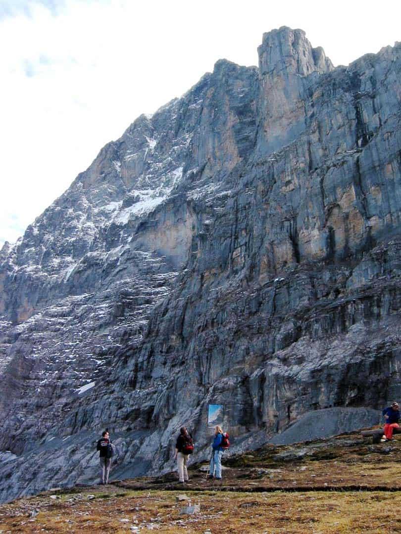 Eiger Trail Hiking In Switzerland