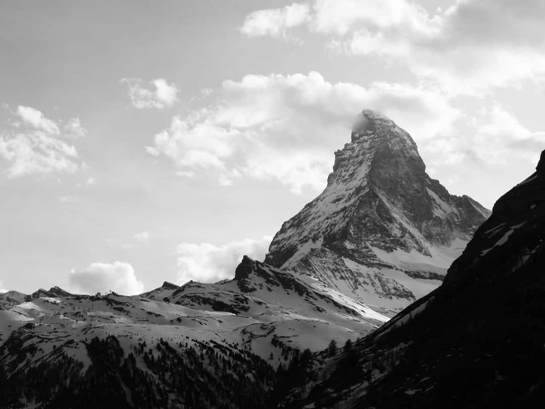 Matterhorn Hiking In Switzerland