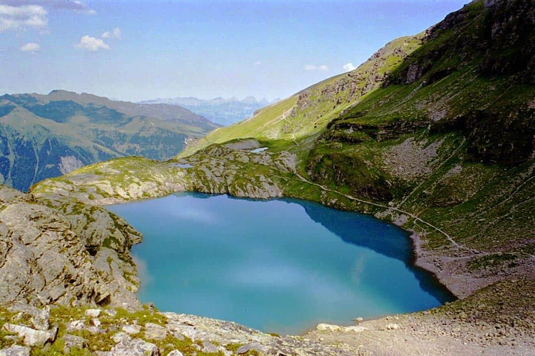 Pizol Lake Hiking In Switzerland