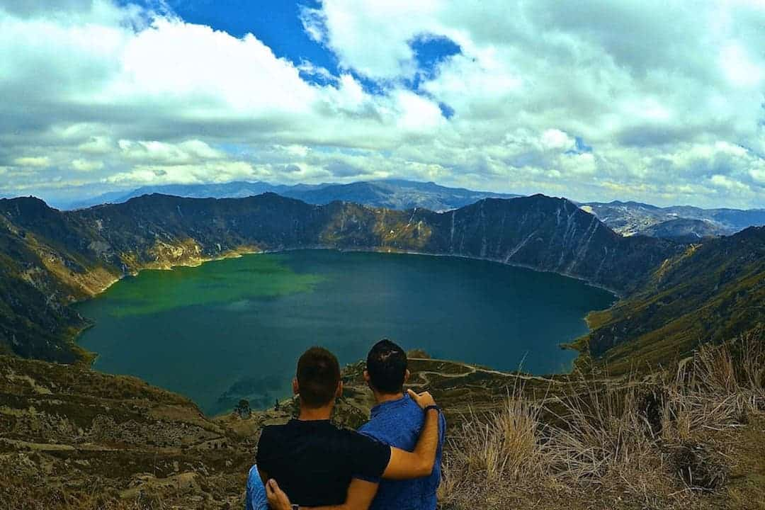 Quilotoa Lake - Adventure Activities In Ecuador