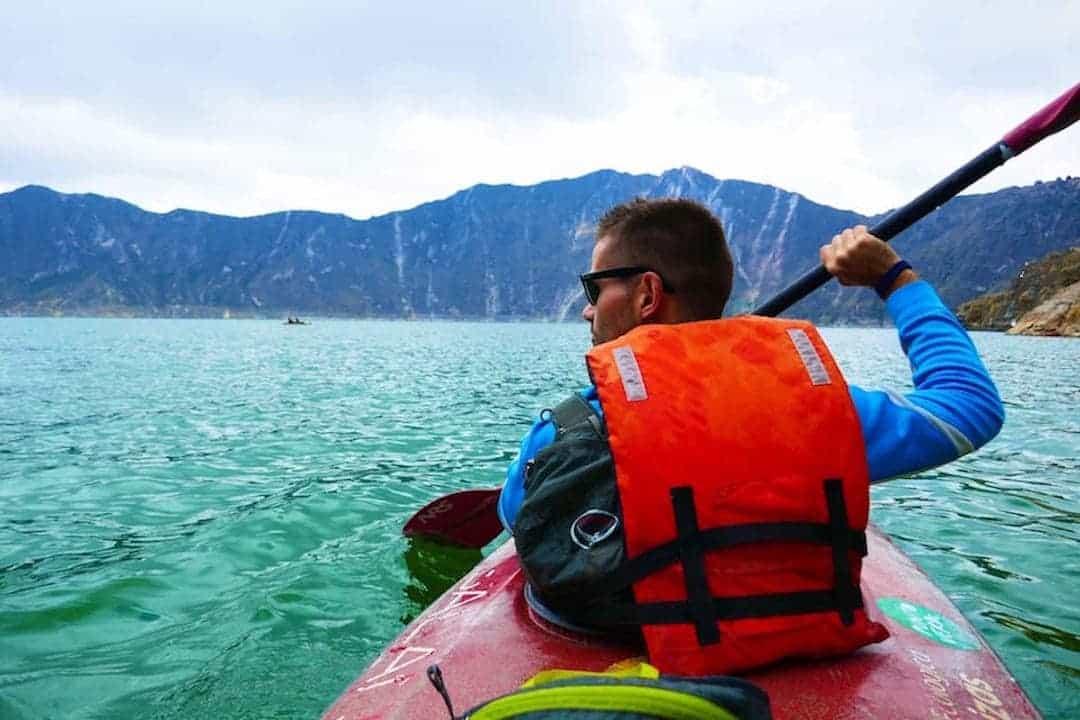 Quilotoa Lake Kayaking - Adventure Activities In Ecuador