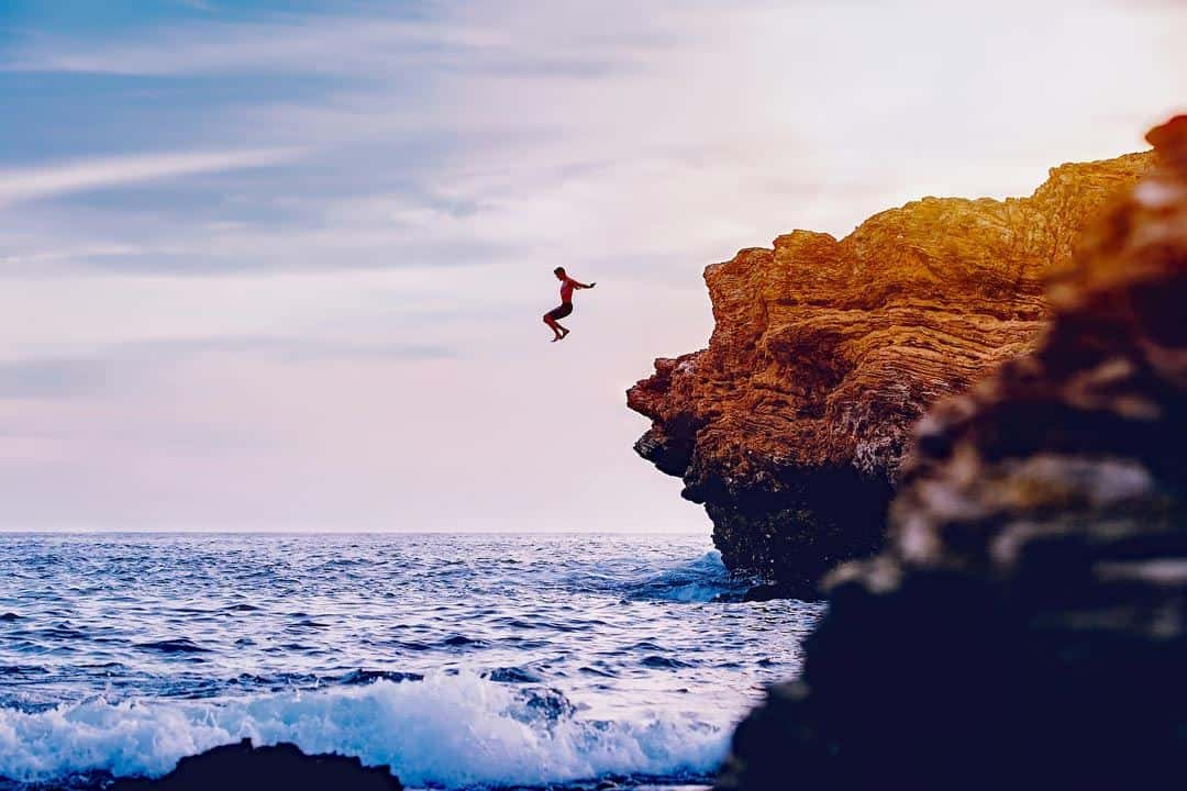 Cliff Diving Adventure Activities In Portugal
