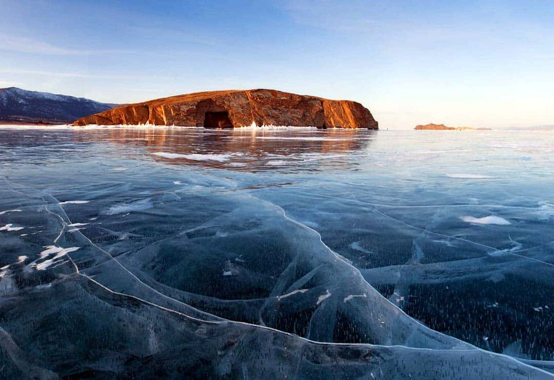 Ice Diving Lake Baikal Adventure Activities In Russia
