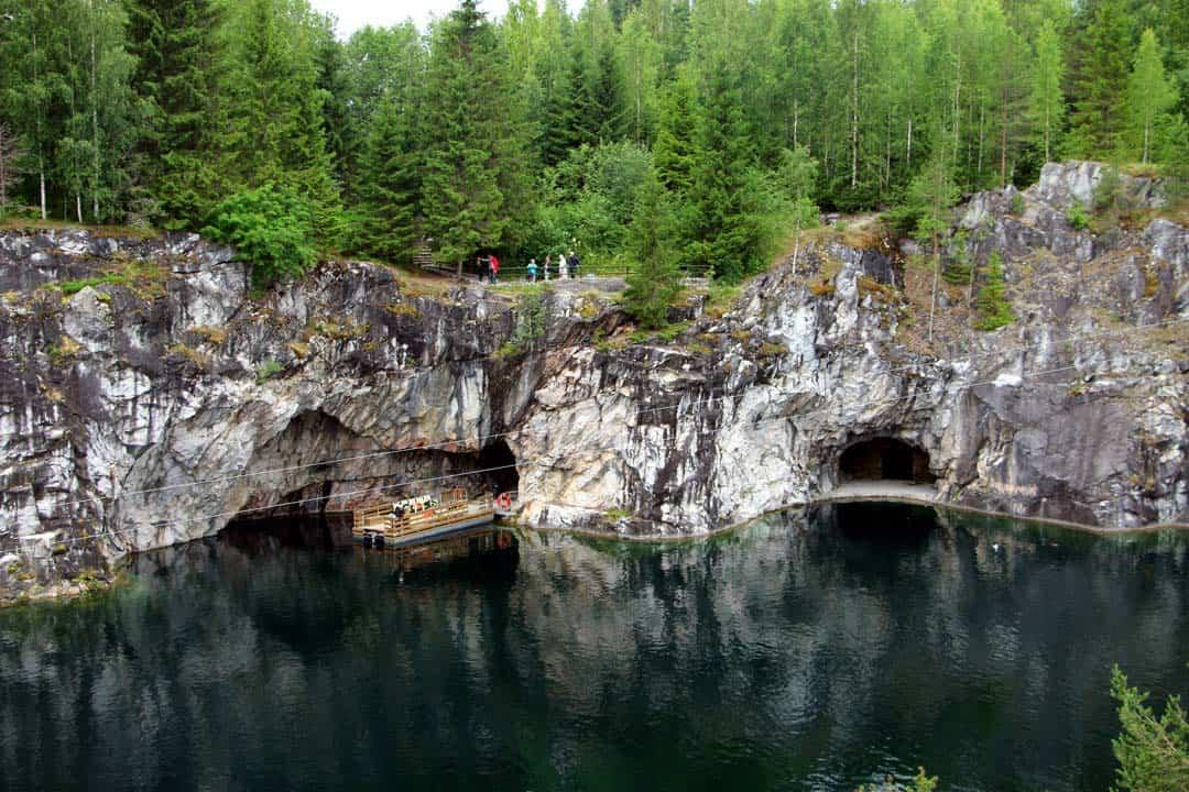 Marble Quarry Adventure Activities In Russia