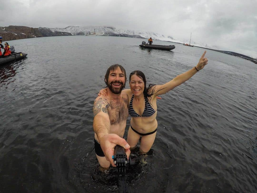Polar Plunge Things To Do In Antarctica