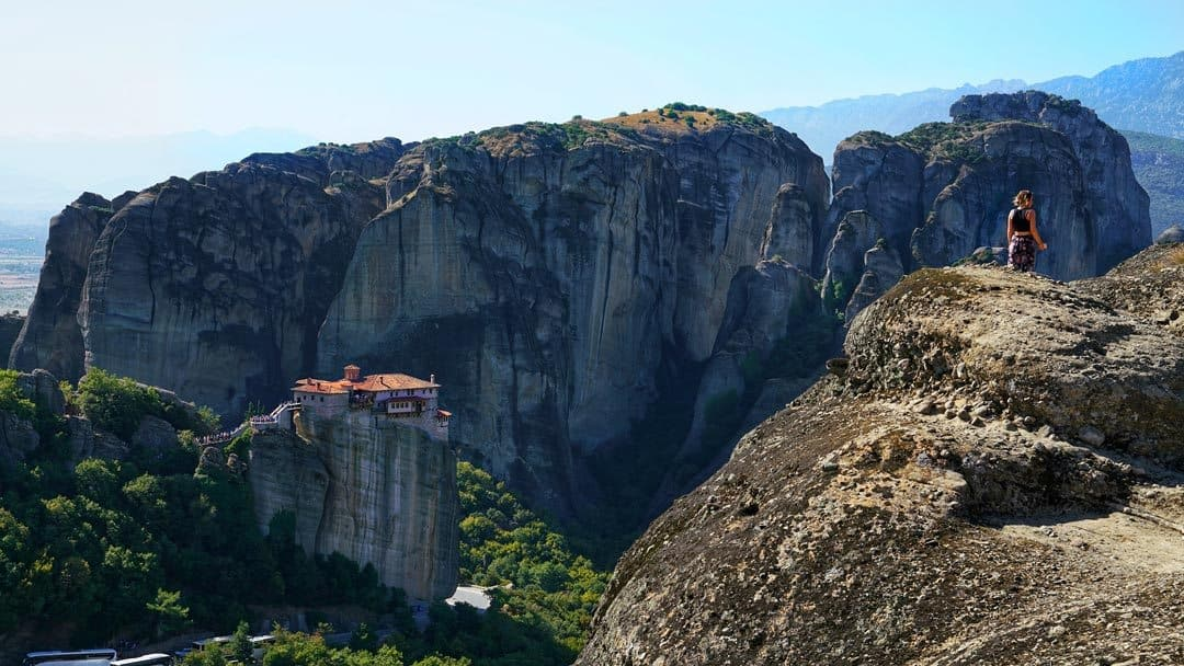 Hiking Adventure Activities In Meteora