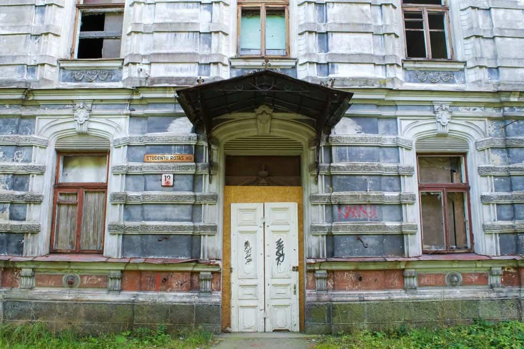 Abandoned Building Karosta Beach Latvia